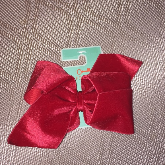 Copper Key Other - New With Tags Gorgeous Red Velvety Hair Bow